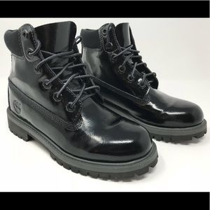 6-Inch Premium Leather Waterproof Boots Boys 3794A